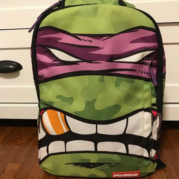 850bd552f84 Rare Donatello Sprayground Backpack ninja turtles.  M_5b46b7e46a0bb7e46e957397
